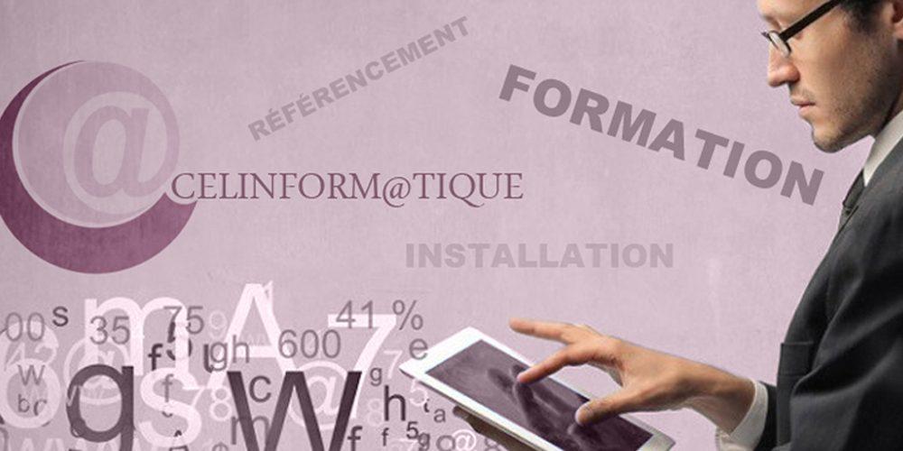 Sarl Celinform@tique -Assistance informatique et formation numérique - création site internet